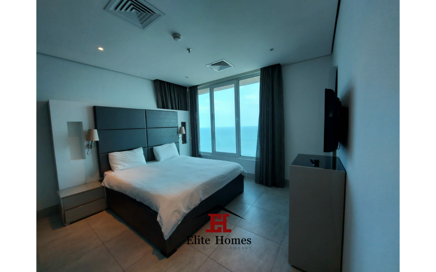 Sea View and City View Luxury Apartments in Mangaf
