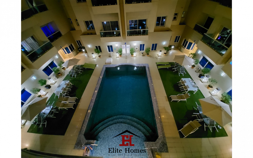 Fully Furnished Beautiful and Elegant Pool View Apartments in Mangaf