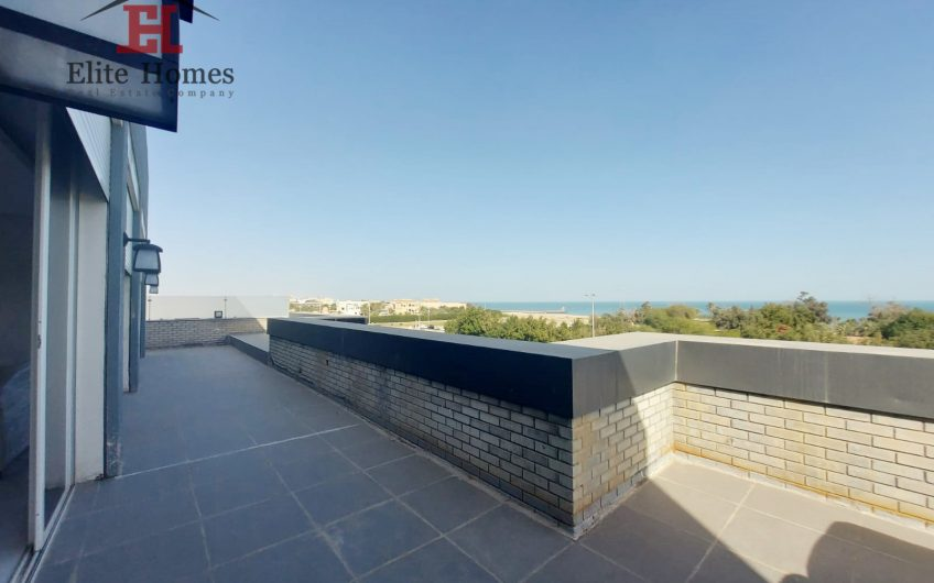 Luxurious Sea View  Penthouse in Salwa