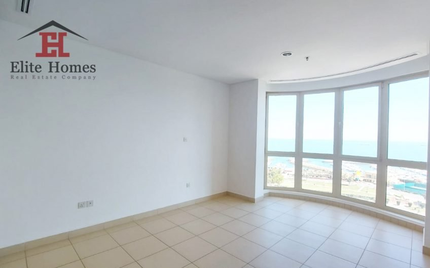 Spacious & Elegant Sea View Apartment in Salmiya
